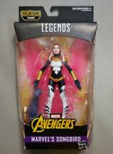 "NEW MARVEL LEGENDS SONGBIRD AVENGERS 6"" FIGURE THANOS RIGHT ARM BUILD A FIGURE"