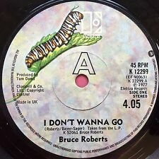 Bruce Roberts-Je ne veux pas aller/je ne se cassent facilement-Elektra K-12299 VG +