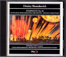Evgeny Mravinsky: Shostakovich Symphony No. 10 the bolt suite Rozhdestvensky CD