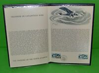 OFFICIAL FRENCH PHILATELIC DOCUMENT IN HONOR OF CHARLES A. LINDBERGH