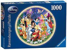 NEW! Ravensburger Wonderful World of Disney 1000 piece round jigsaw puzzle 15784
