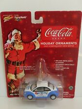 Rare Johnny Lightning Coca-Cola 2000 Volkswagen Beetle White Lightning Chase