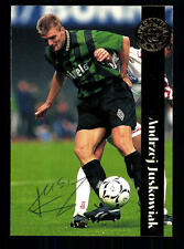 Andrzej Juskowiak Borussia Mönchengladbach Panini Card 1996-97 Original +A98603