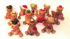 Lot Of 12 Homco Bears Collectible
