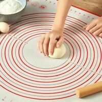 Non-Stick Silicone Baking Mat Pad Sheet Rolling Dough for Cake Kitchen Tool