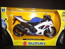 NewRay Suzuki GSX R-1000 2008 Blue with black wheels version 1/12