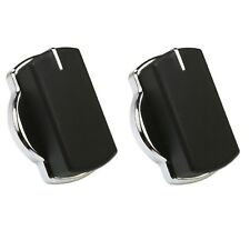 2X Genuine Belling 444441158 ADP3640 ADP48 Oven Cooker Control Knob Switch Black
