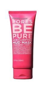 Formula10.0.6 Pore Be Pure Skin-Clarifying Mud Mask  Strawberry + Yarrow 3.4 oz