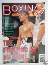 BOXING MONTHLY Magazine Aug 1993 Chavez  Andy Till Steve Robinson Schwer Ampofo