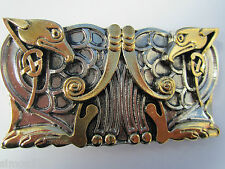 Celtic birds belt buckle.