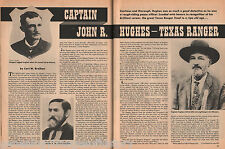 Captain John R. Hughes of the Texas Rangers;Named Bryant, Hayes, Howard, McNelly