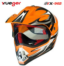 Gr-XS Motorradhelm Crosshelm Quad Cross Enduro ATV Motocross Offroad Helm rueger