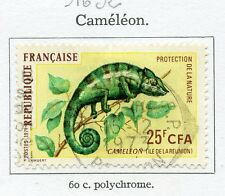 STAMP / TIMBRE FRANCE OBLITERE N° 1692 CAMELEON / FAUNE
