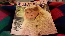 August Woman's Weekly Magazines for Women