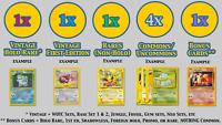 Vintage Pokémon GOD PACKS | WOTC HOLOS + 1ST EDITIONS + RARES + SHADOWLESS