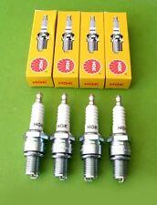 ( 4 ) spark plugs NGK D9EA cb900 cb900f gs1150 gs550 zx600 zl600 zx1100