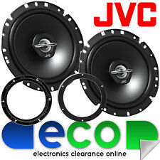 VW Polo 9N3 2005-2009 JVC 17cm 600 Watts 2 Way Rear Door Car Speakers & Brackets