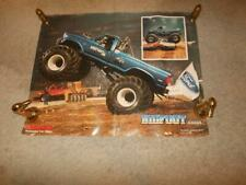 RARE ORIGINAL 1985 VINTAGE FORD BIG FOOT MONSTER TRUCK POSTER