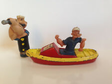Vintage 1980s Corgi Juniors Diecast Model No 67 Popeye's Boat