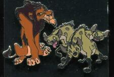 Lion King Scar Hyenas 2 Pin Set Disney Pin 101923