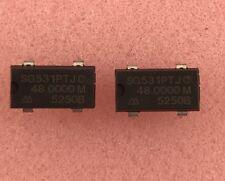 2 PCS - Seiko Epson SG-531PTJC Crystal Oscillator 48.0000 MHZ