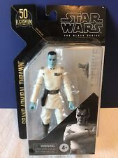 Star Wars The Black Series Archive Grand Admiral Thrawn Action Figure New Sealed