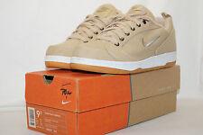 Nike Tour plus Canvas Tennis 2000 Size 43 Beige/Sand 142039 231 Incl. Box