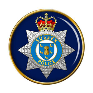 Sussex Police Pin Badge