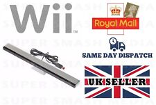 SENSOR BAR FOR NINTENDO WII & WII U WITH STAND WIRED INFRARED RECEIVER - NEW
