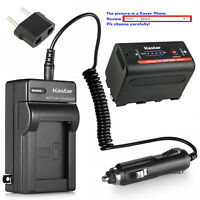 Kastar NP-F780 Battery AC Charger for Sony NP-F770 & CCD-RV200 CCD-SC8 CCD-SC9