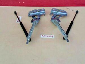 2004-2010 Audi A8 D3 Quattro Left & Right Hood Hinge W/ Shock 4E0823301F OEM