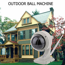 Wireless Wifi Network IP Camera 3x Optical Zoom PTZ Outdoor Waterproof CAM NEW N