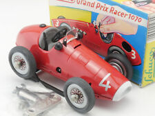 Schuco 1070 Grand Prix Racer Rennwagen Uhrwerk rot #4 MIB wie NEU! OVP 1609-04-6