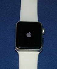 APPLE WATCH SERIES 1 38MM ALUM CASE WHITE SPORT BAND Excellent Condition 2 3 4 5