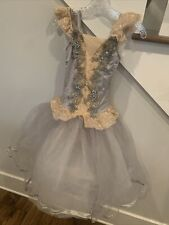 Weissman Silver And Gold Ballet Costume Adult Small