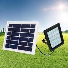 LED Solar Fluter mit PIR Bewegungsmelder Außen Strahler Scheinwerfer Licht NEU