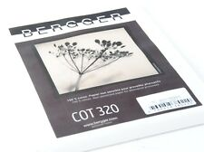 Bergger COT320 Art Photographic Paper 24 x 20 25 sheets for Alternative Printing