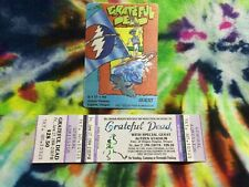 Grateful Dead Backstage Pass And Ticket Eugene Oregon Or 6/17/94 Windsurfing !