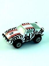 Micro Machines Vehicle Car MAZCA RX7 Zebra #2 Race Car Red Tail Light Variation