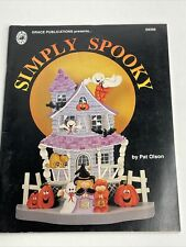 Pat Olson Simply Spooky Decorative Painting Patterns  Halloween