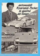 QUATTROR991-PUBBLICITA'/ADVERTISING-1991- RIVAROSSI-POCHER-FERRARI (vers. B/N)