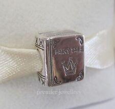 Genuine Authentic Pandora Silver Fairy Tales Book Charm 791109