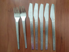 Vintage EL AL Israel Airlines Stainless Cutlery Flatware Otto Treuman 1960