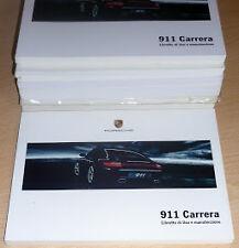 Porsche 911/997 Carrera Coupe' e Cabriolet,uso manutenzione Porsche Targa 4