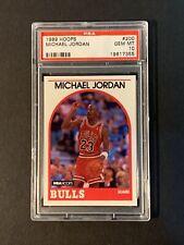 1989 Hoops Michael Jordan HOF #200 PSA 10 Gem Mint Chicago Bulls