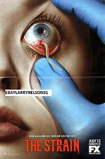 The Strain Poster Guillermo Del Toro Carlton Cuse Walking Dead Dark Horse Fx