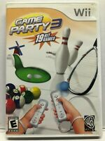 Game Party 3 19 Hit Games (Nintendo Wii) Complete w/ Manual - Tested Working