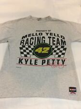VTG Crew Kyle Petty #42 mello yello Nascar T Shirt Sz large tee made in the USA