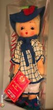 """Unusual 1980 LENCI Torino 10"""" Doll Made In Italy Vintage w/ Tag, MIP, CUTE !!"""