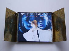 COLLECTOR Mylène Farmer MYLENIUM TOUR 2CD metal Box coffret laiton boitier 2000